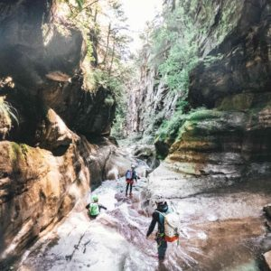 Canyoning Tagestour Stuibenfälle