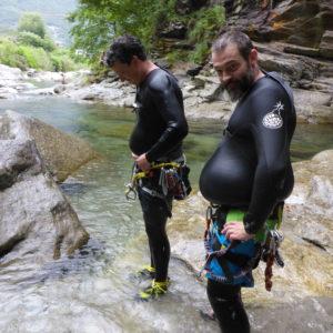 Canyoning Tagestour Tessin Boggera